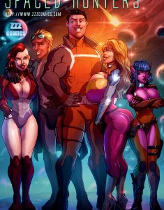 spaced_hunters_cover_by_zzzcomics-d8calpq