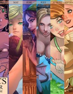 zzz_comics_2014_gts_desktop_calendar_by_zzzcomics-d707f1x